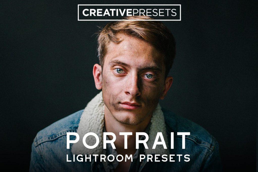 Preset 80 Portrait Lightroom Presets for lightroom