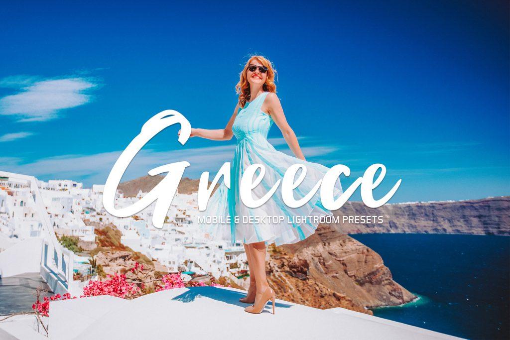 Preset Greece Lightroom Preset for lightroom