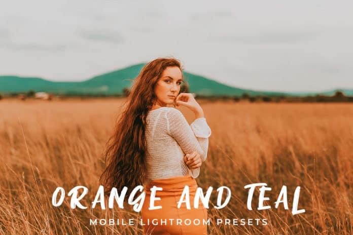 Preset Orange and Teal Presets for lightroom