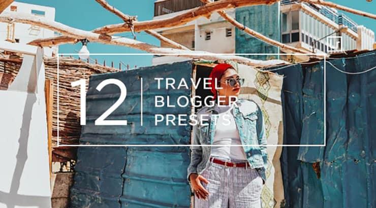 Preset 12 Travel Blogger Lightroom Presets for lightroom