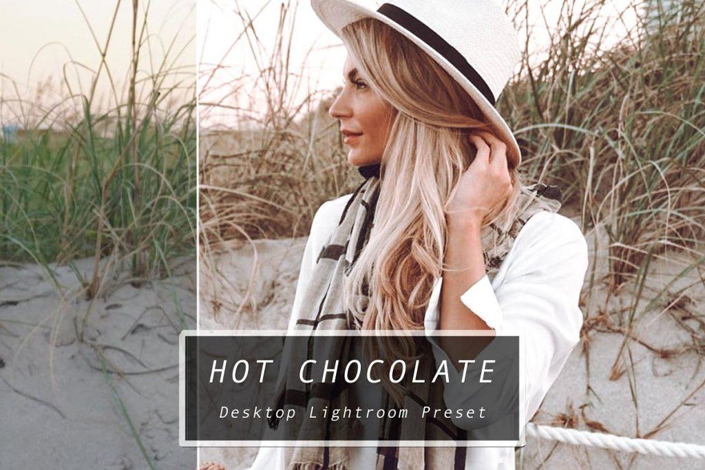 Preset Hot Chocolate Mobile Preset for lightroom