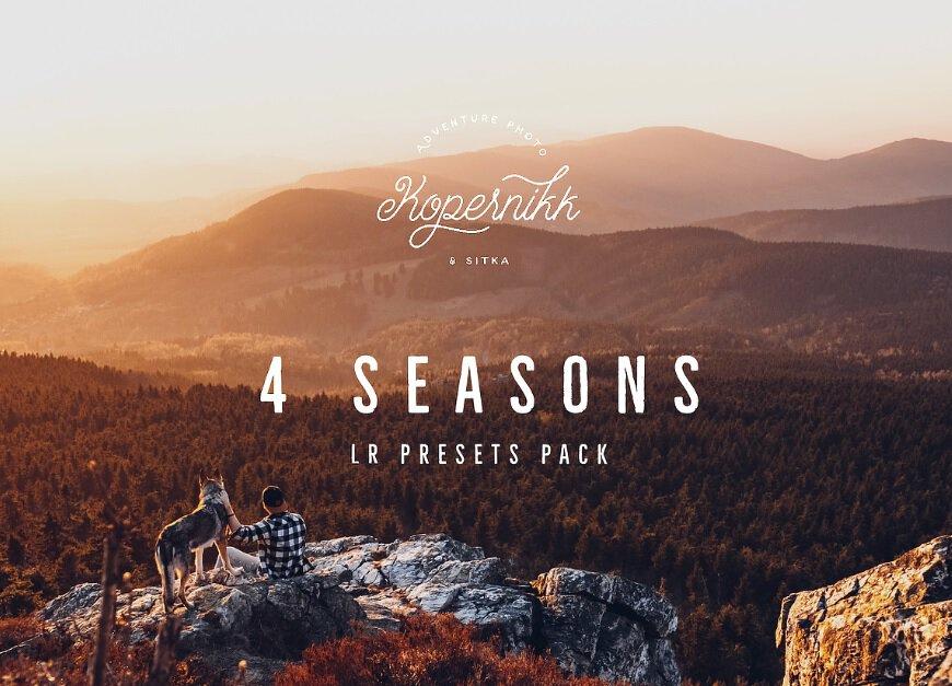 Preset 4 Seasons Presets for lightroom