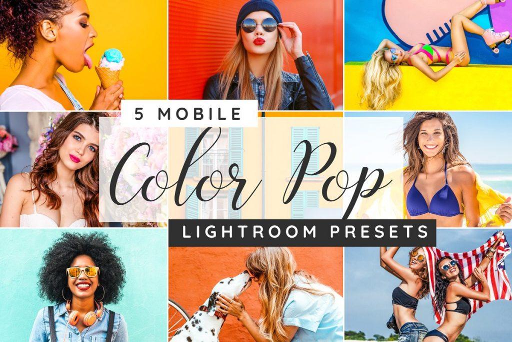 Preset Color Pop Lightroom Desktop Presets for lightroom