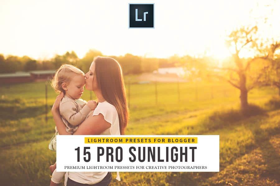 Preset Sunlight Lightroom Presets for lightroom