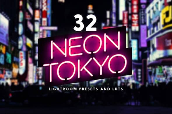 Preset 32 Neon Tokyo Lightroom Presets for lightroom