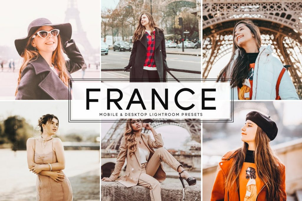 Preset France Presets for lightroom