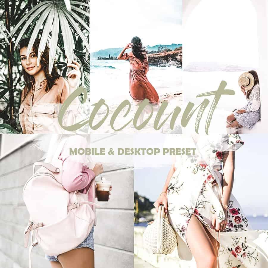 Preset Coconut Preset for lightroom