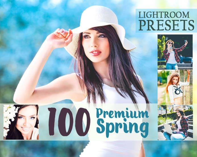Preset 100 Premium Spring Lightroom Preset for lightroom
