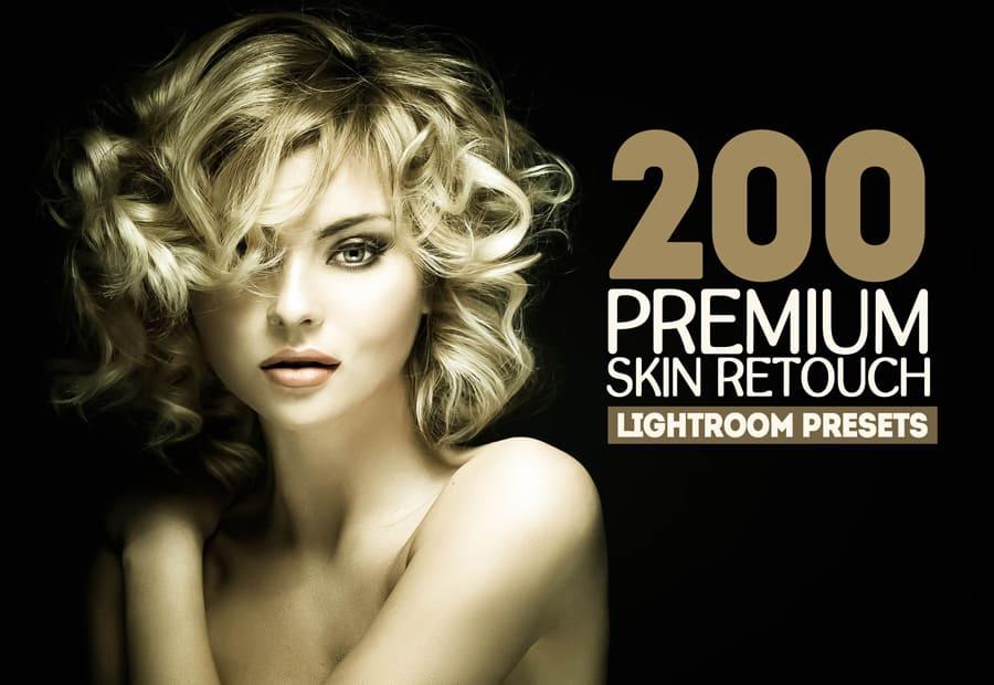 Preset 200 Premium Skin Retouch for lightroom