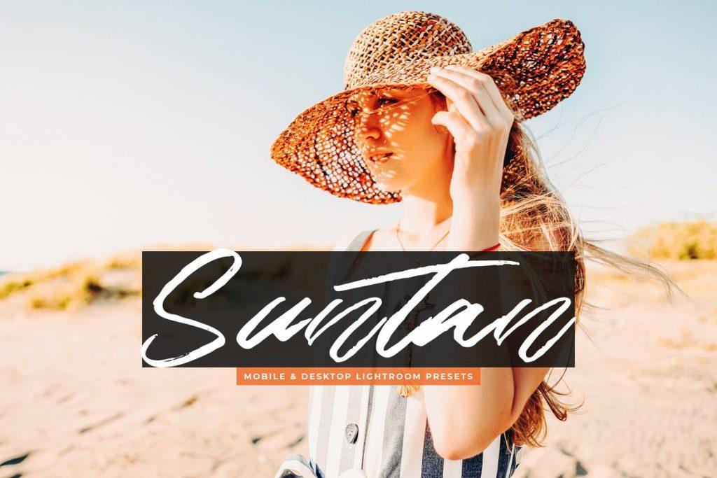 Preset Suntan Desktop & Mobile for lightroom