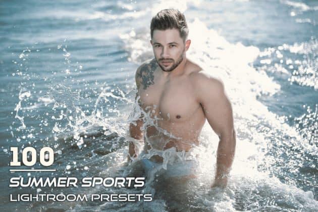 Preset 100 Summer Sports Lightroom Presets for lightroom