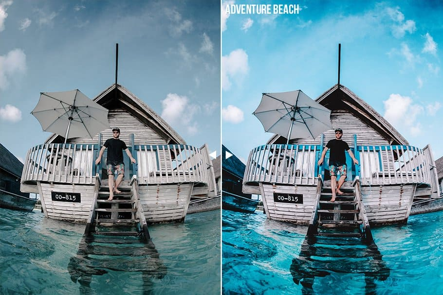 Preset Travel Influencer Mobile Presets for lightroom