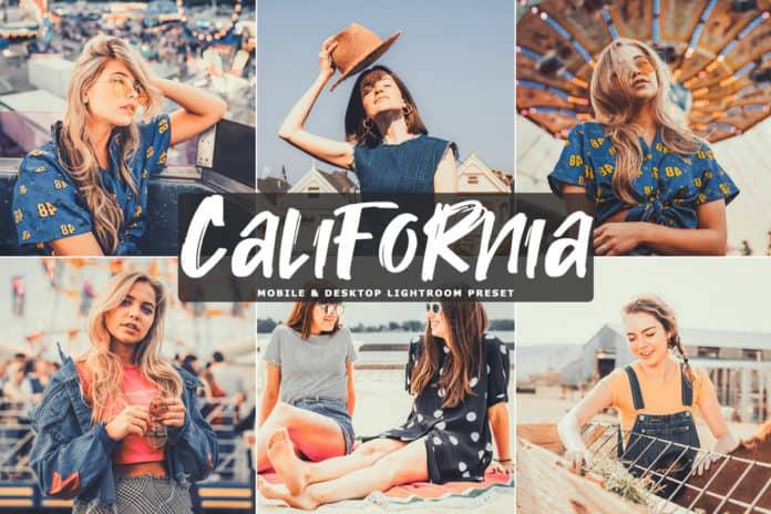 Preset California Preset for lightroom