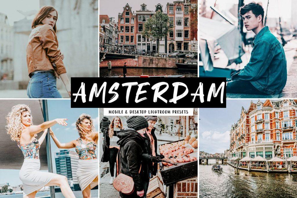 Preset Amsterdam Desktop Lightroom Presets for lightroom