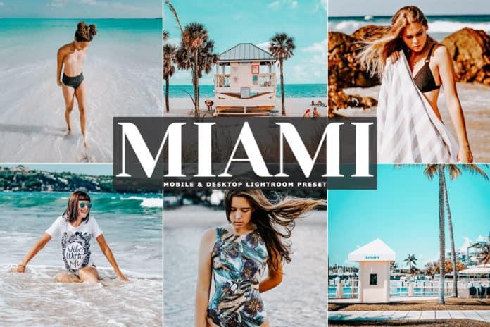 Preset Miami Desktop Lightroom Presets for lightroom
