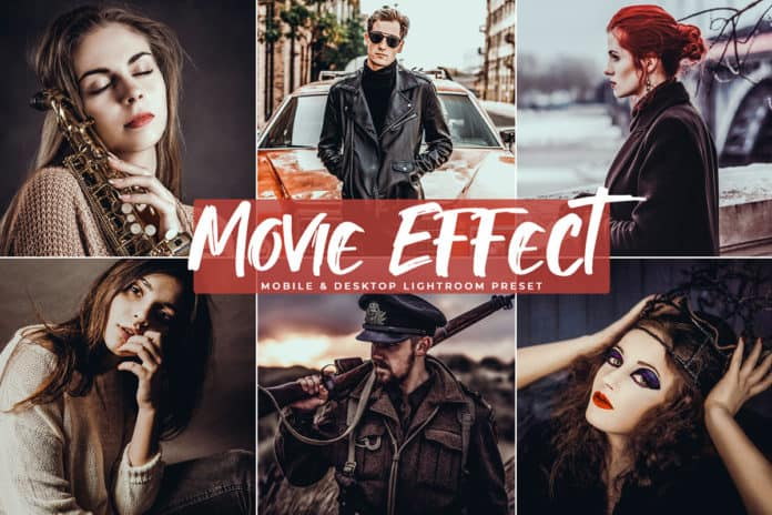 Preset Movie Effect Preset for lightroom
