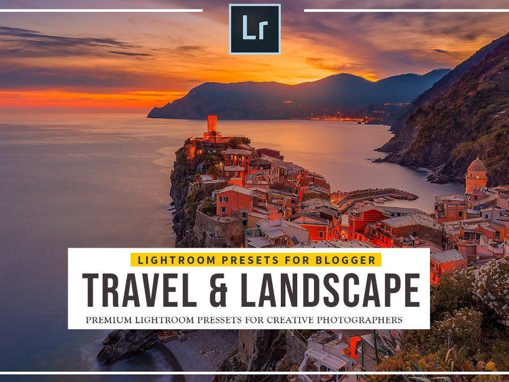 Preset Travel and Landscape Lightroom Presets for lightroom