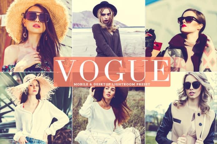 Preset Vogue Lightroom Presets for lightroom