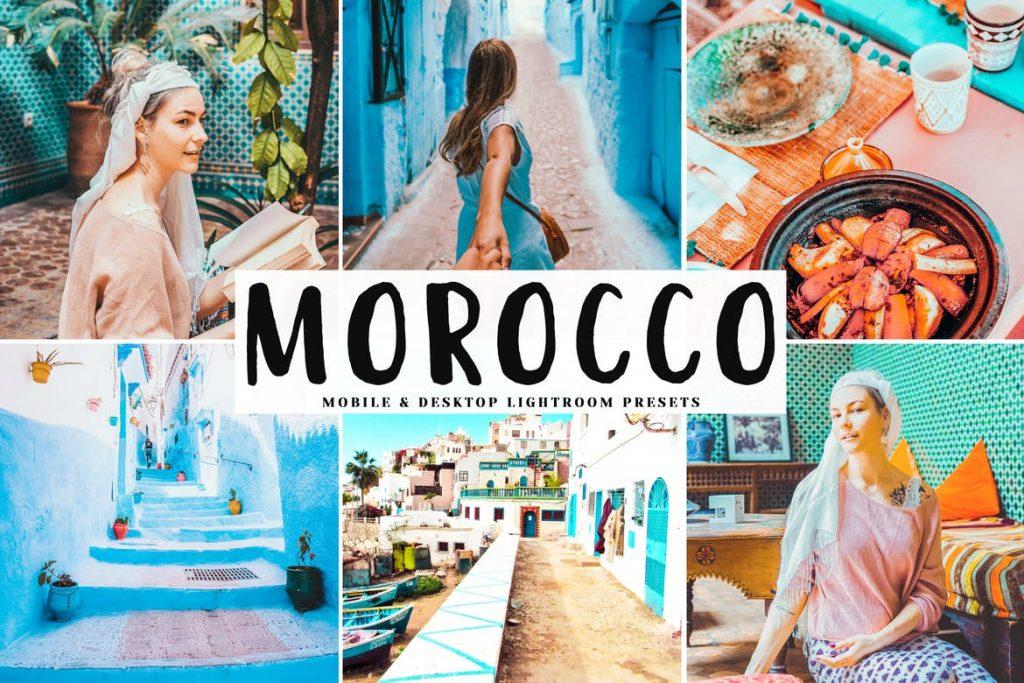 Preset Morocco Desktop Lightroom Presets for lightroom