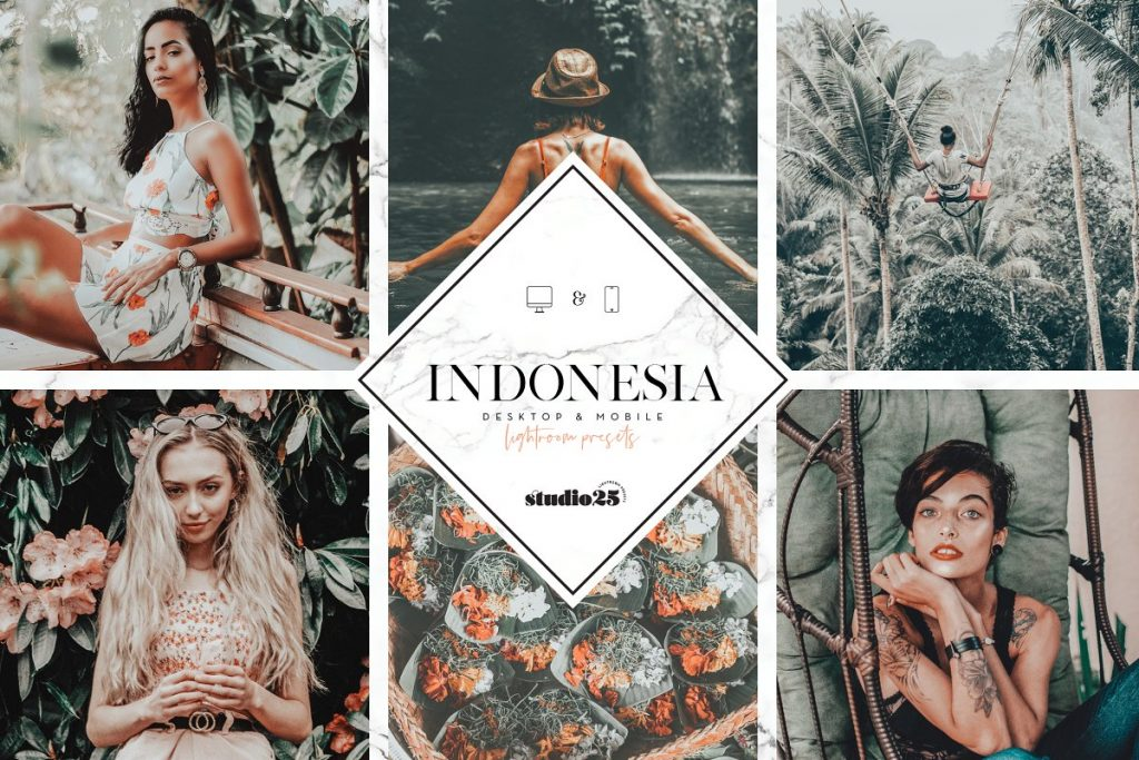 Preset Indonesia Presets for lightroom