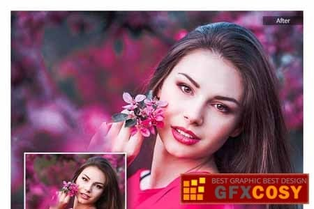 Preset 10 beauty portrait for lightroom