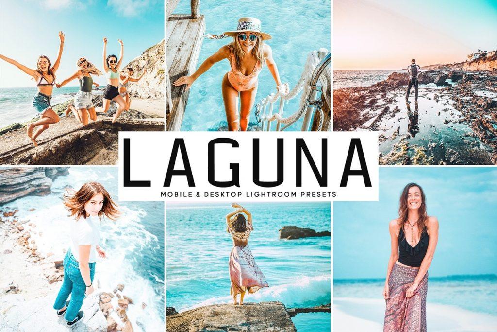 Preset Laguna for lightroom