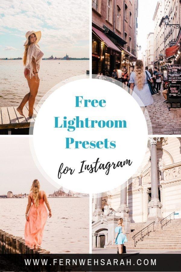 Preset Instagram for lightroom