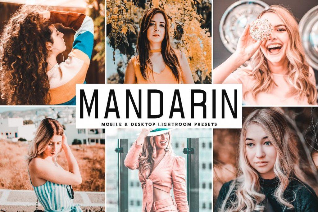 Preset Mandarin for lightroom