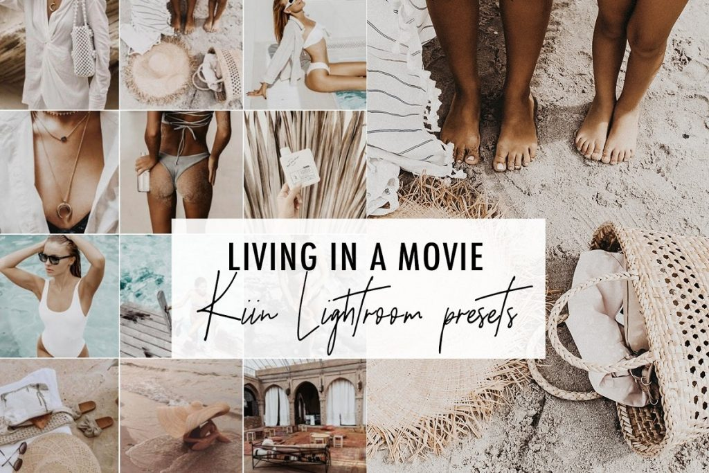 Preset Living in a movie for lightroom