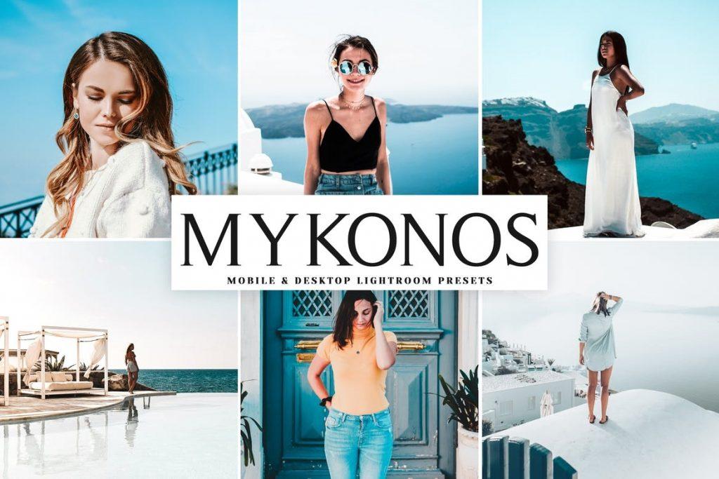 Preset Mykonos for lightroom