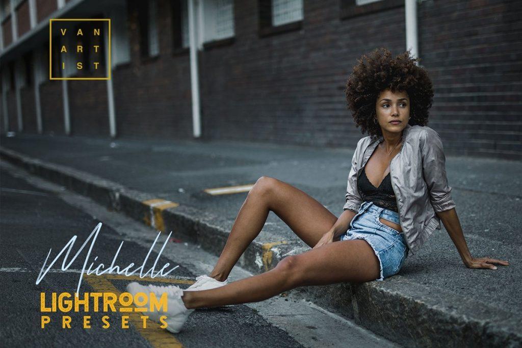 Preset Michelle for lightroom