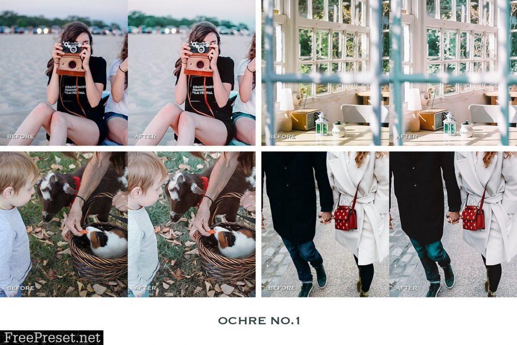 Preset Ochre Mobile for lightroom