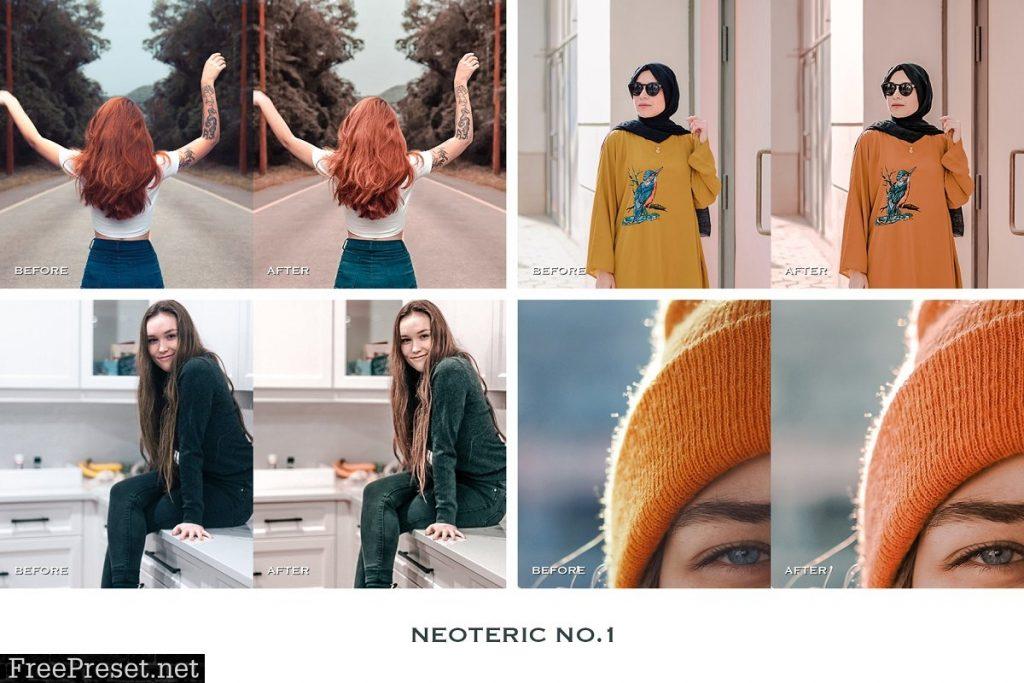 Preset Neoteric Mobile for lightroom