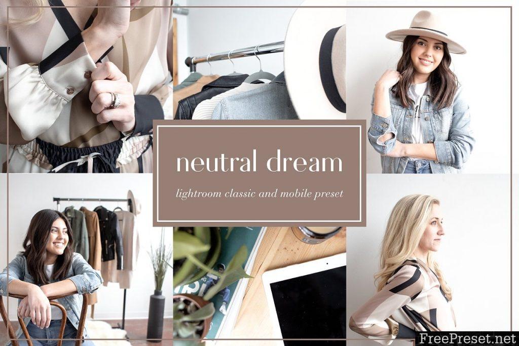 Preset Neutral Mobile for lightroom
