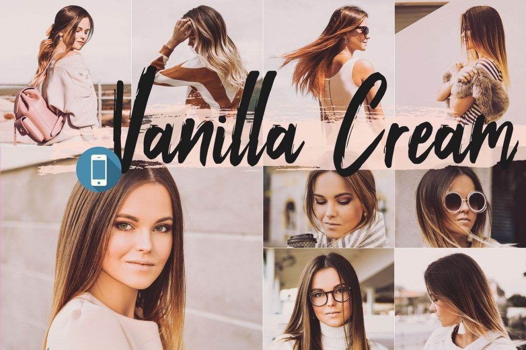 Preset Vanilla cream for lightroom