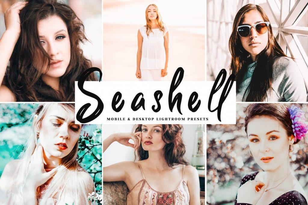 Preset Seashell for lightroom