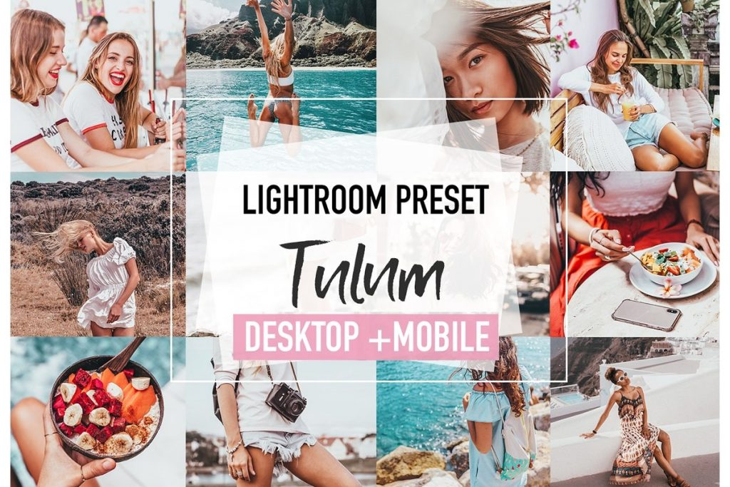 Preset Tulum for lightroom