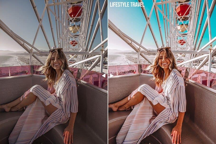 Preset Travel Lifestyle (Mobile) for lightroom