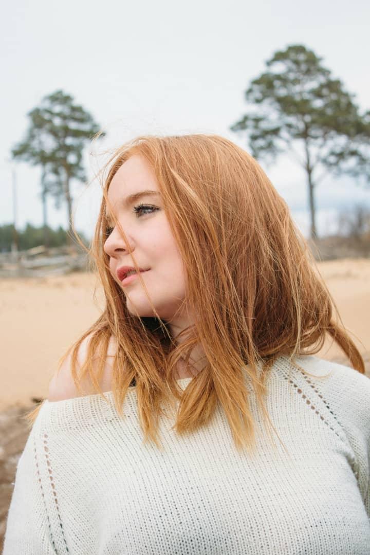 Preset Girl On The Beach for lightroom