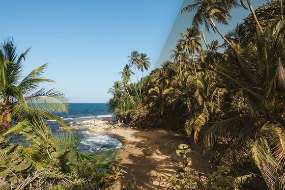 Preset Tropical Beaches for lightroom