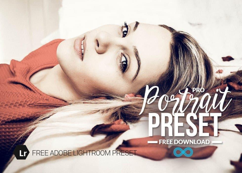 Preset Portrait PRO for lightroom