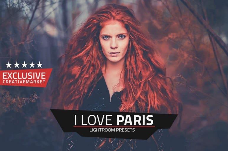 Preset I Love Paris for lightroom