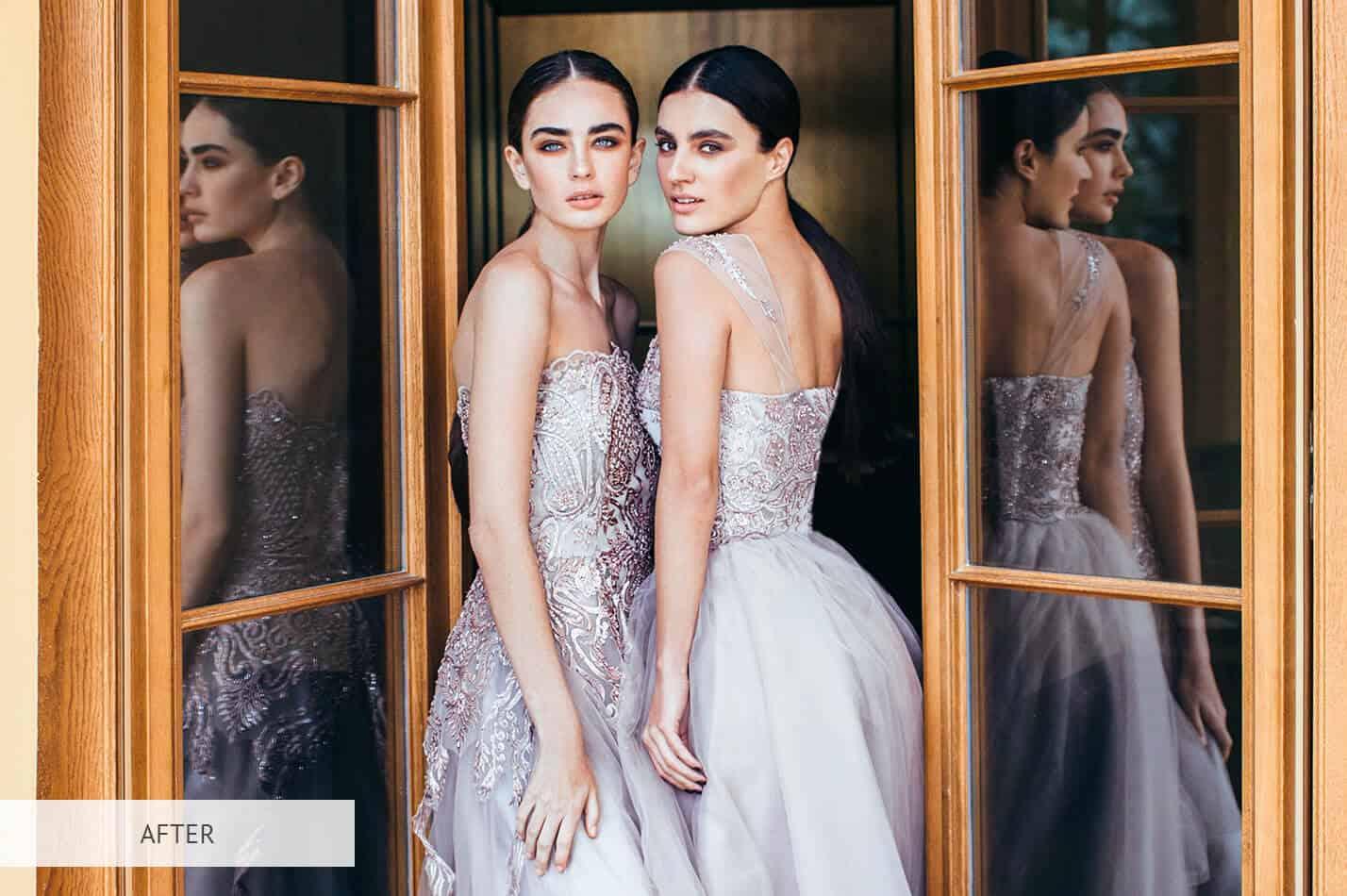Preset Portrait Fashion for lightroom