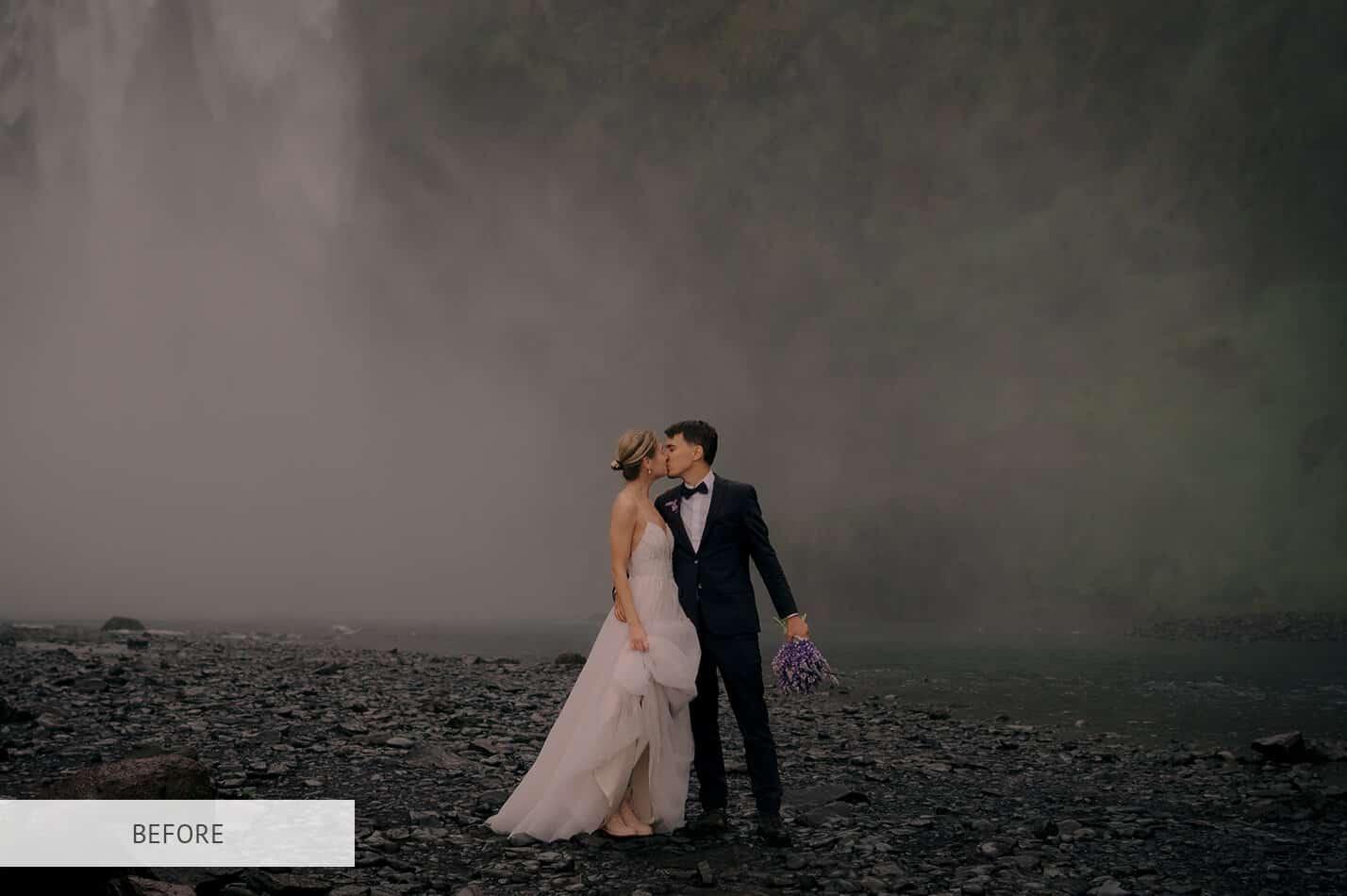 Preset Wedding Cold Wind for lightroom