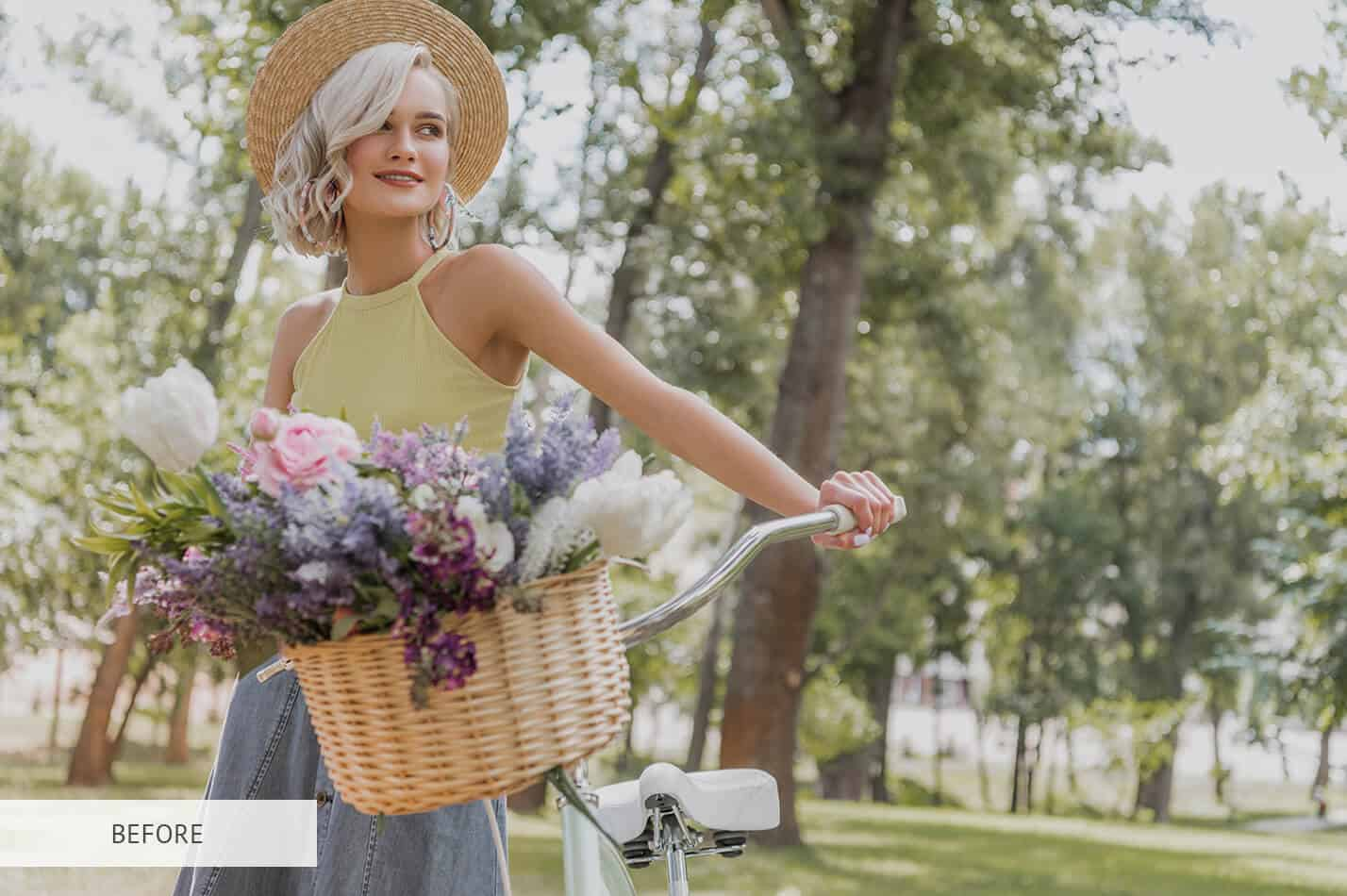 Preset Light & Airy Apricot for lightroom