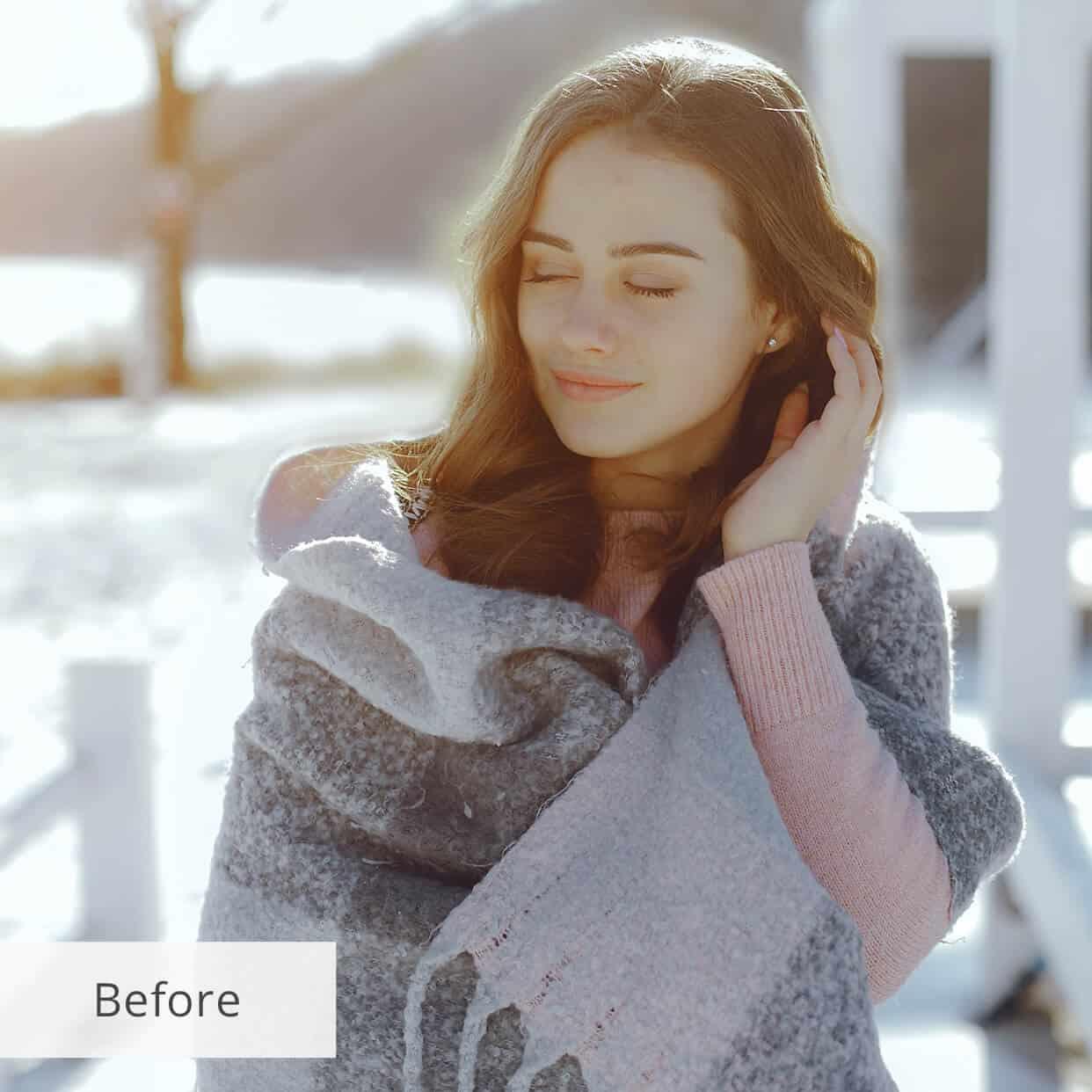 Preset Snow Fairy Tale for lightroom