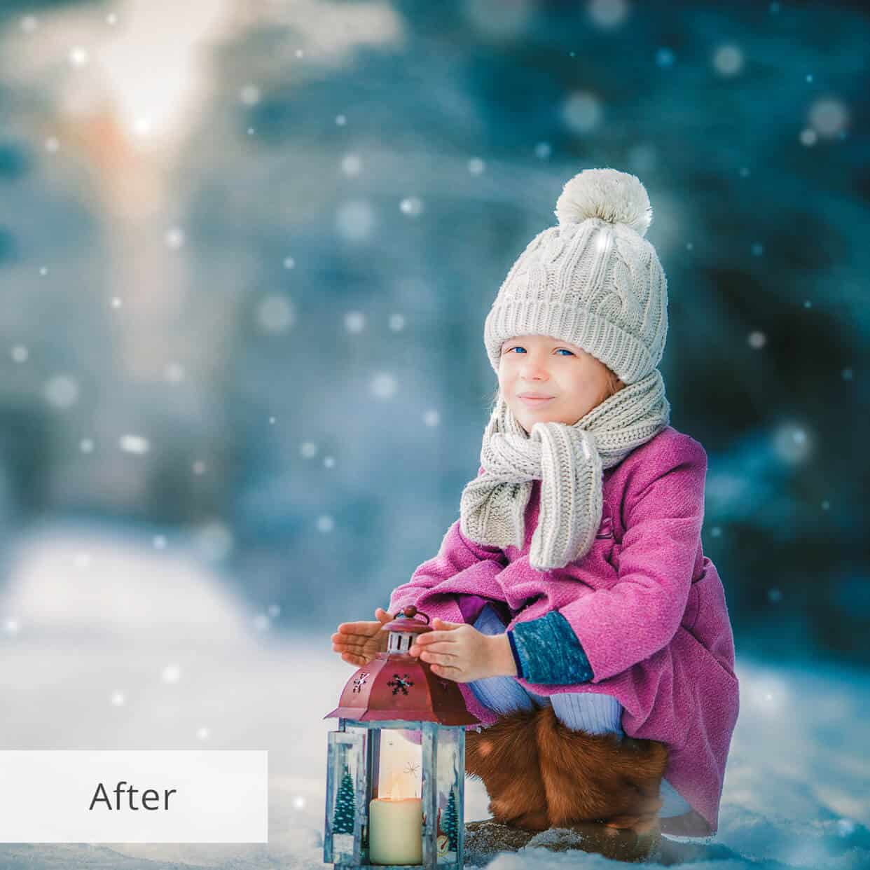 Preset Snow Miracle for lightroom