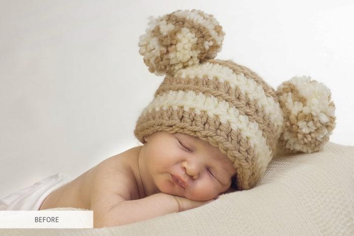 Preset Newborn Soft Light for lightroom