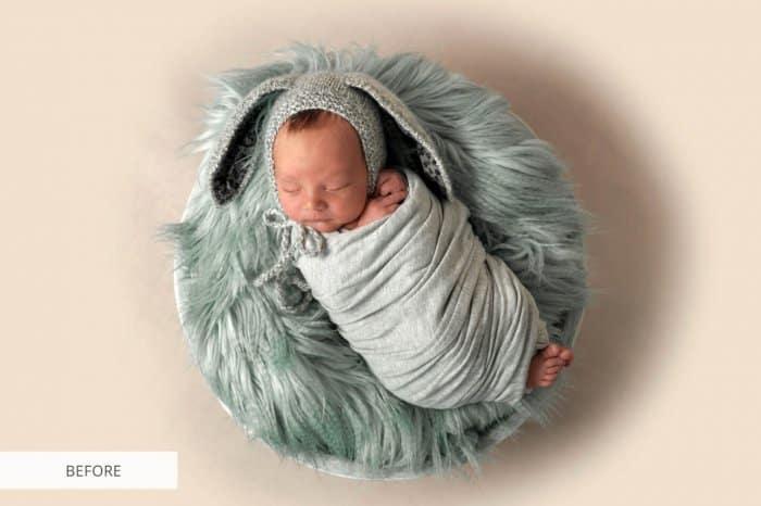 Preset Newborn Blissful for lightroom