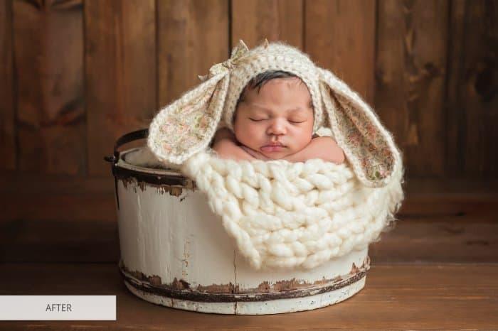 Preset Newborn Joyful for lightroom
